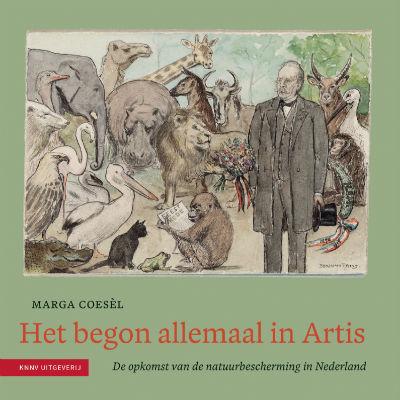 cover uitgave: Het begon allemaal in Artis / Marga Coesèl